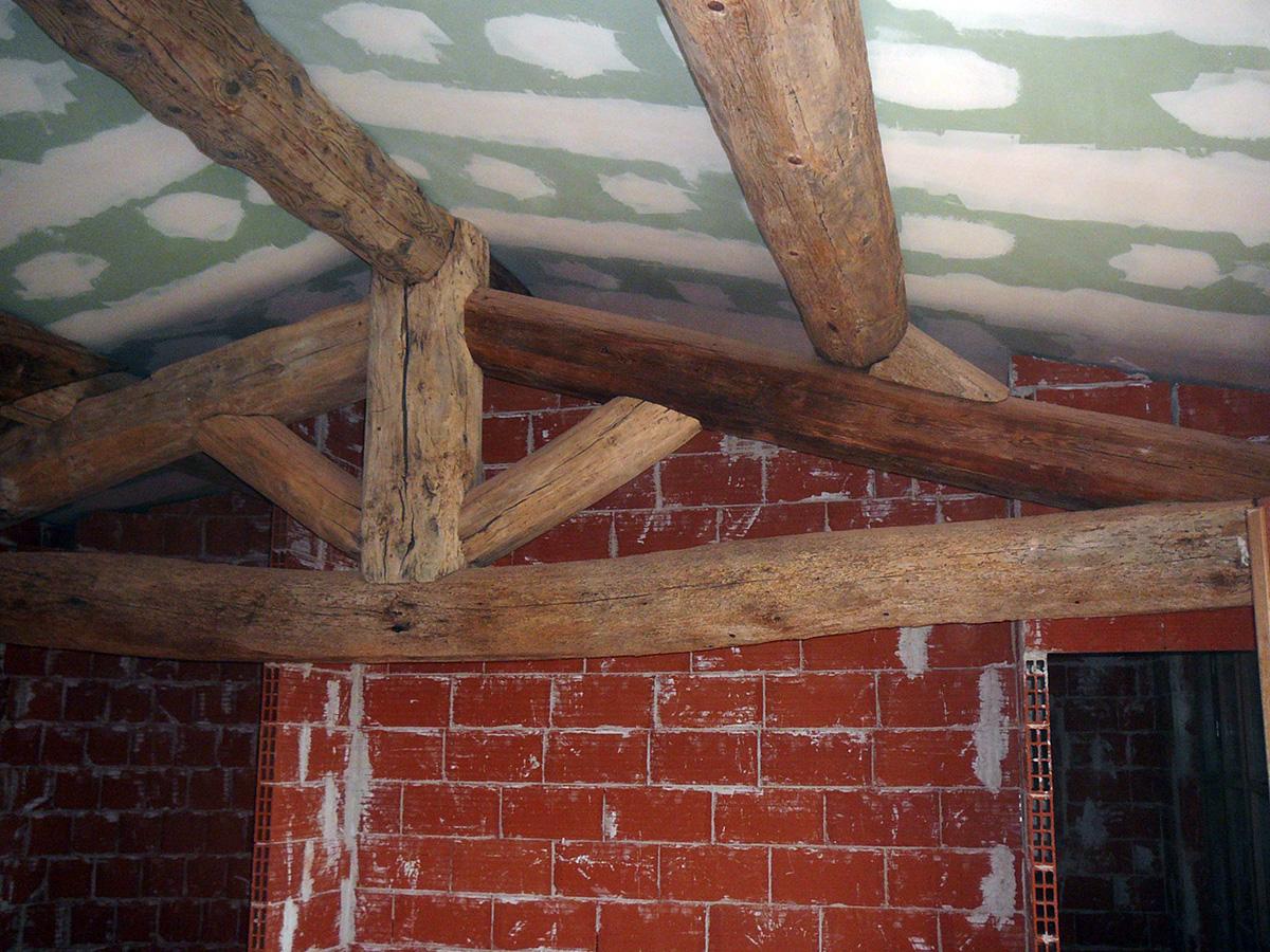 Tradi Charpente destiné réalisations de charpentes traditionnelles bois - tradi charpente en